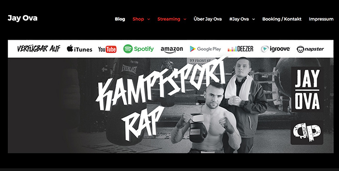 Jay Ova Webdesign Homepage erstellen Senftenberg Schwarzheide Lauchhammer